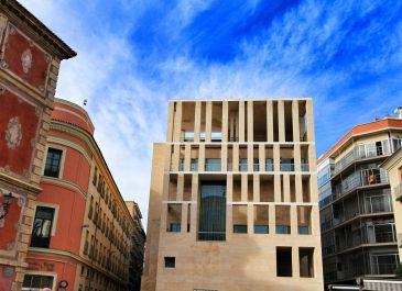 Murcia,,Spain-,November,16,,2019:,Beautiful,And,Modern,Moneo,Building